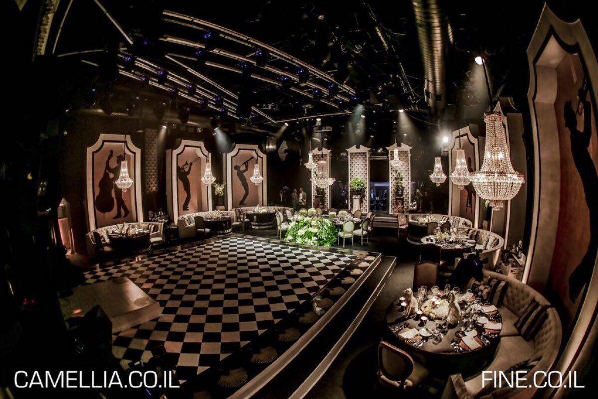 מועדון התיאטרון | קייטרינג עלי דפנה