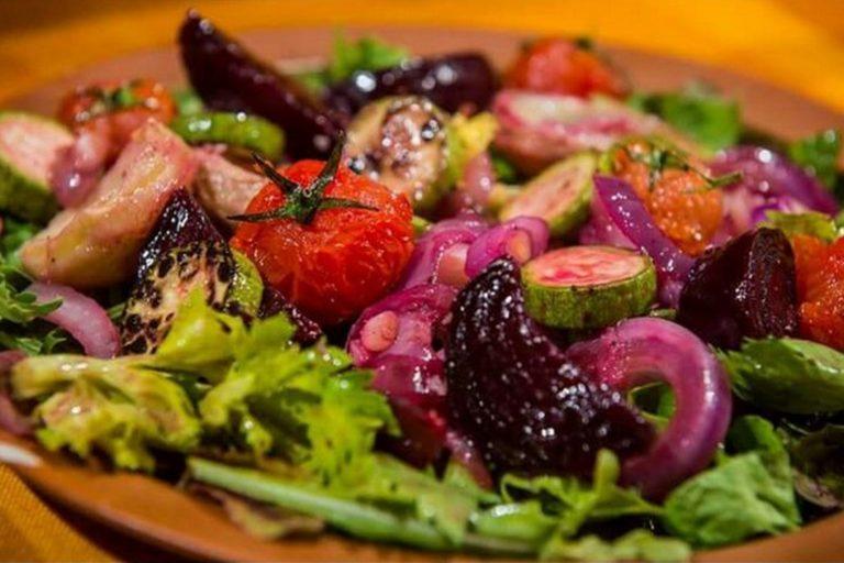 יום העצמאות | סלט ירקות בגריל