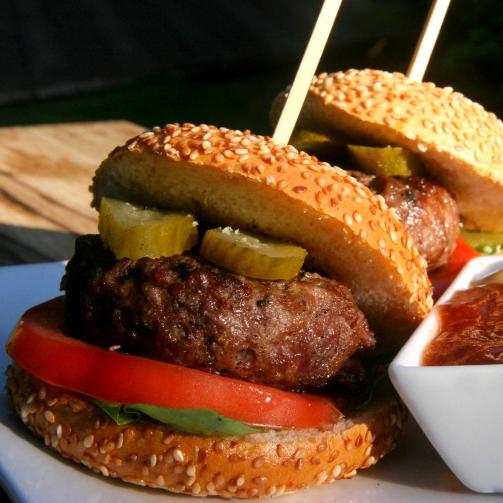מיני המבורגר עסיסי