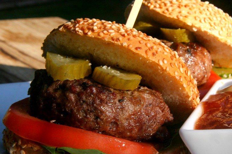 דוכני מזון לאירועים | המבורגר