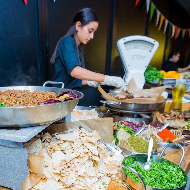 דוכני מזון למסיבות | חומוסיה