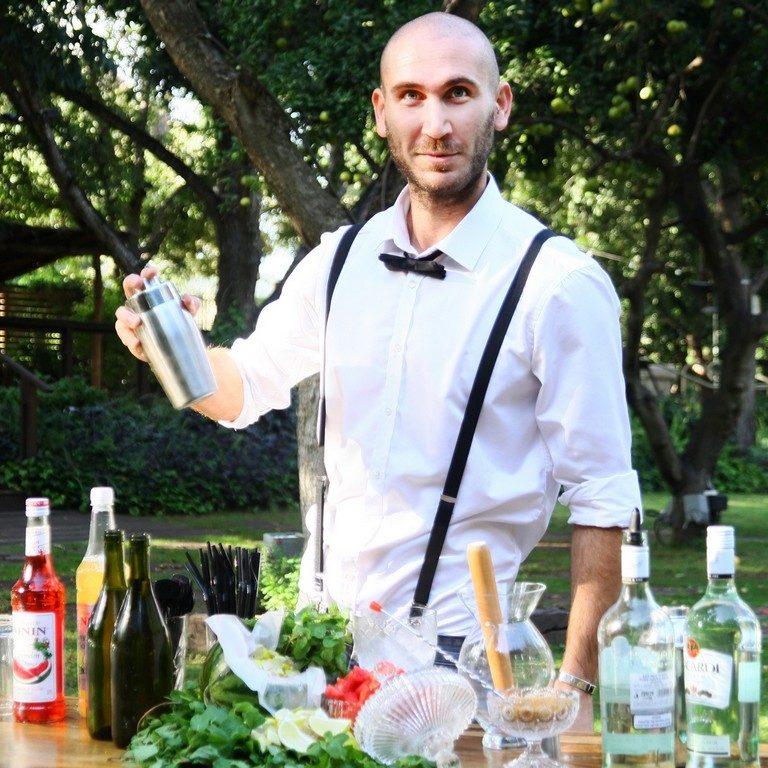 בר אלכוהול לאירועים | מוחיטו אבטיח