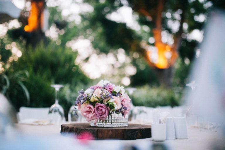 עוגה לראש השנה | רקע פרחים